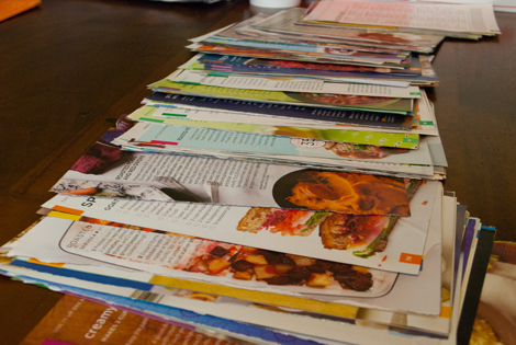 Organizing meal planning and grocery shopping - RISING*SHINING
