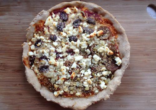 Homemade deep dish pizza   RISING*SHINING