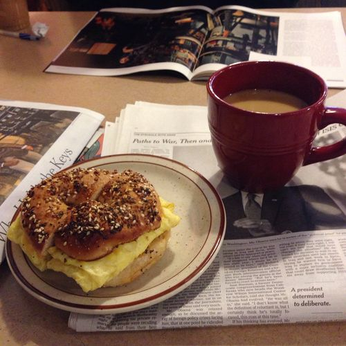 Coffeeandbagel