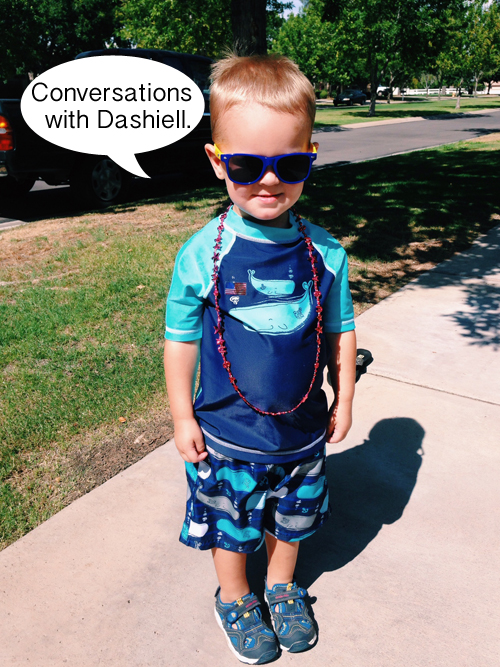 Conversations with Dashiell | RISINGS*SHINING