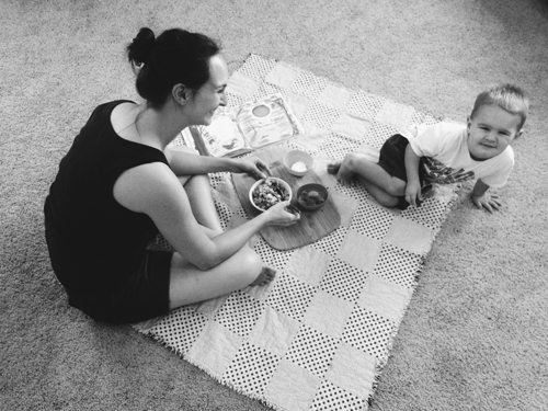 Poem picnics with kids | RISING*SHINING