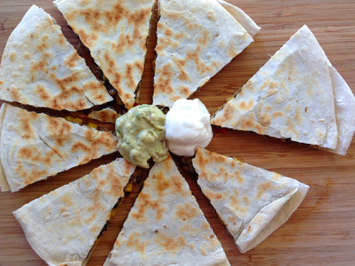 Lentil quesadillas | RISING*SHINING