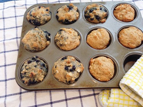 Superpower blueberry muffins | RISING*SHINING