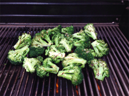 Grilled-broccoli