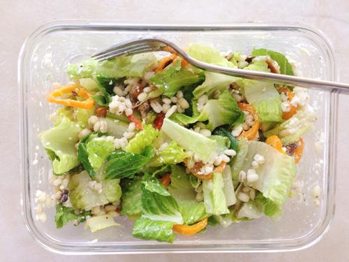 Favorite lunch salad | RISING*SHINING