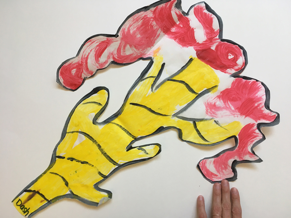An easy way to manage children's art work   RISING*SHINING