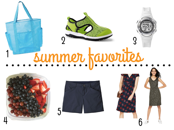 Six summer favorites | RISING*SHINING