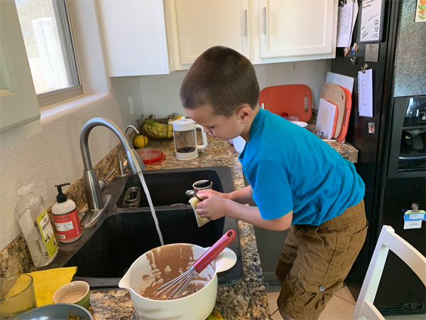Kid Activity: No Recipe Baking | RISING*SHINING